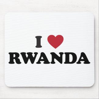I Love Rwanda Mousepads