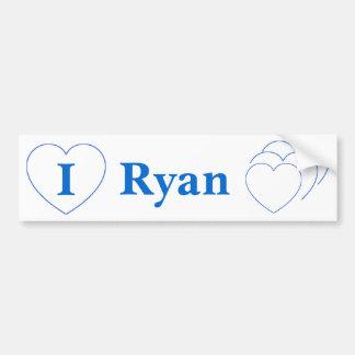 I Love Ryan (BpS) Bumper Sticker