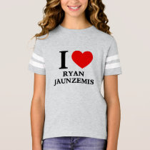 I LOVE RYAN JAUNZEMIS T-Shirt