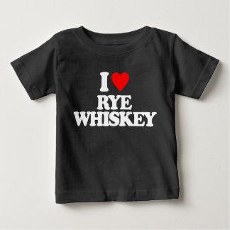 I LOVE RYE WHISKEY BABY T-Shirt