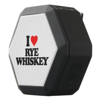 I LOVE RYE WHISKEY BLACK BLUETOOTH SPEAKER