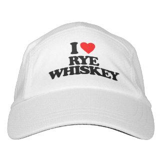 I LOVE RYE WHISKEY HAT