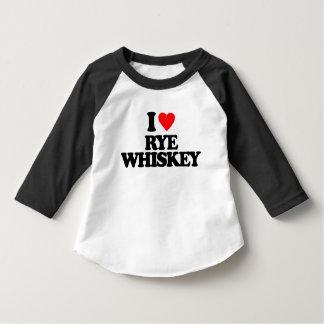 I LOVE RYE WHISKEY T-Shirt