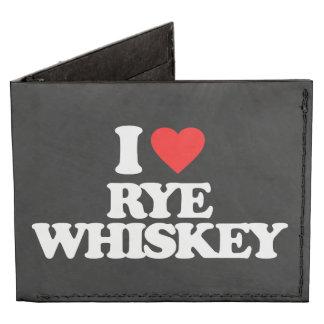 I LOVE RYE WHISKEY TYVEK WALLET