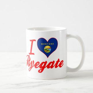 I Love Ryegate, Montana Coffee Mug