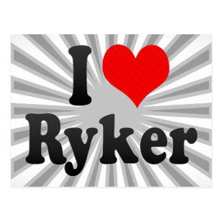 I love Ryker Postcard