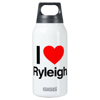 i love ryleigh 10 oz insulated SIGG thermos water bottle