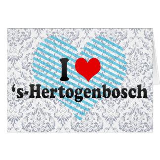 I Love 's-Hertogenbosch, Netherlands Card