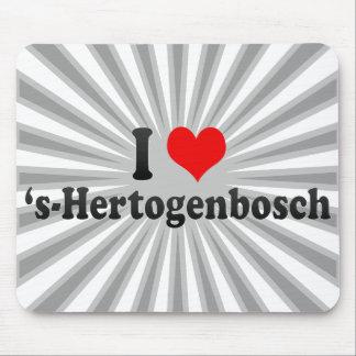 I Love 's-Hertogenbosch, Netherlands Mouse Pads