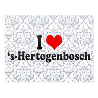 I Love 's-Hertogenbosch, Netherlands Postcard