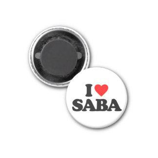 I LOVE SABA FRIDGE MAGNET