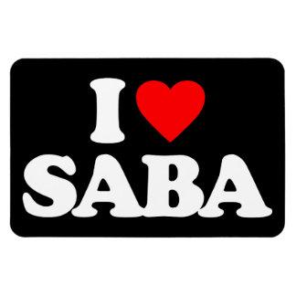 I LOVE SABA MAGNETS
