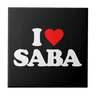 I LOVE SABA TILE