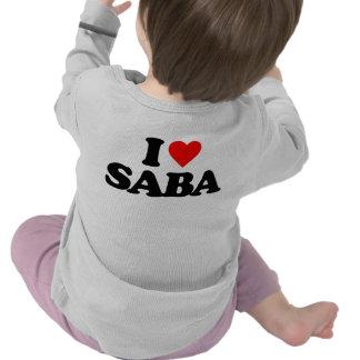 I LOVE SABA TEE SHIRT