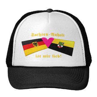I Love Sachsen-Anhalt ist mir lieb Trucker Hat