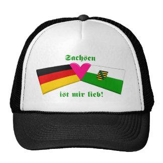 I Love Sachsen ist mir lieb Trucker Hat