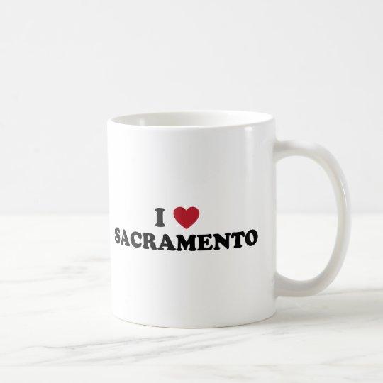 I Love Sacramento California Coffee Mug
