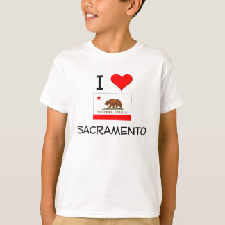 I Love SACRAMENTO California T-Shirt