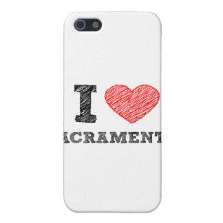I Love Sacramento Cases For iPhone 5