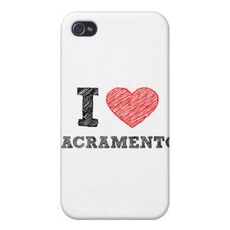 I Love Sacramento Cases For iPhone 4