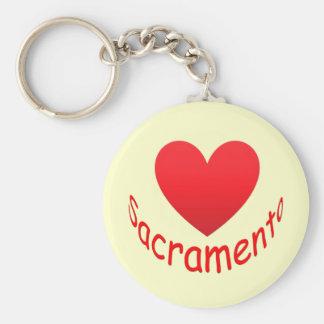 I Love Sacramento Key Chains