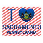 I Love Sacramento, PA Postcards