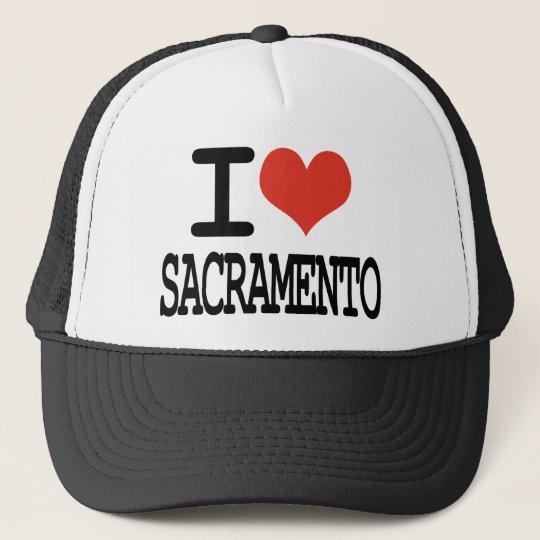 I love Sacramento Trucker Hat