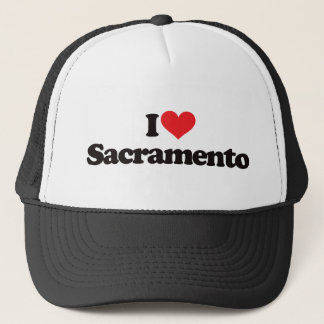 I Love Sacramento Trucker Hat