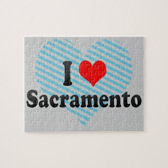 I Love Sacramento, United States Jigsaw Puzzle