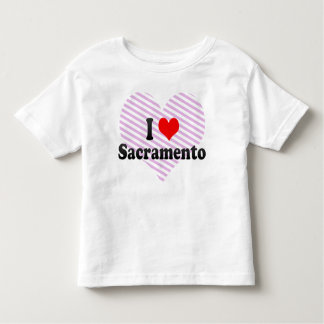 I Love Sacramento, United States Toddler T-shirt