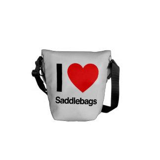 i love saddlebags courier bag