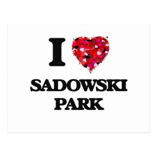 I love Sadowski Park New Jersey Postcard