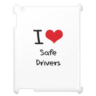 I Love Safe Drivers iPad Covers