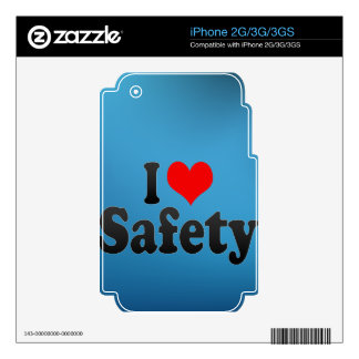 I love Safety Decals For The iPhone 2G