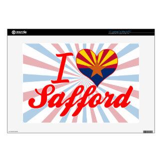 I Love Safford, Arizona Laptop Skin