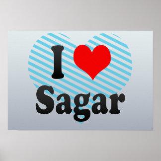 I Love Sagar, India Poster