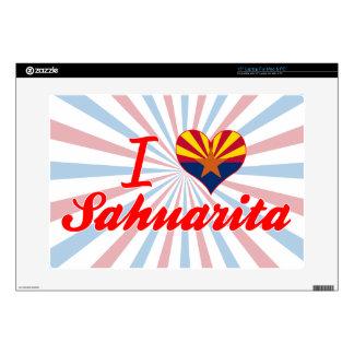 "I Love Sahuarita, Arizona 15"" Laptop Decals"