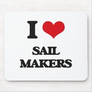 I love Sail Makers Mouse Pad