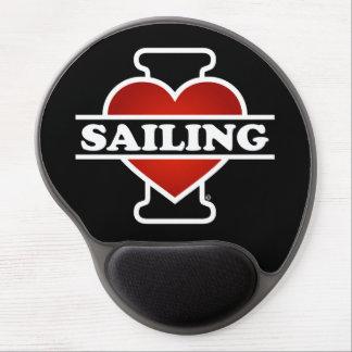 I Love Sailing Gel Mouse Pad