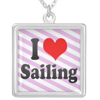 I love Sailing Necklace