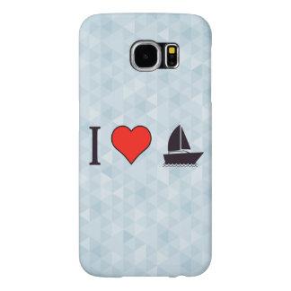 I Love Sailing Samsung Galaxy S6 Cases
