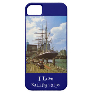 I love sailing ships iPhone SE/5/5s case