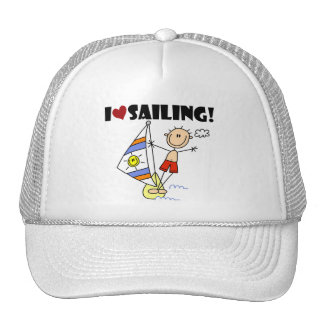 I Love Sailing T-shirts and Gifts Trucker Hat