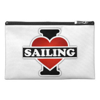 I Love Sailing Travel Accessories Bags