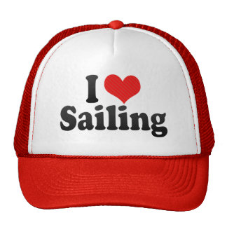 I Love Sailing Trucker Hat