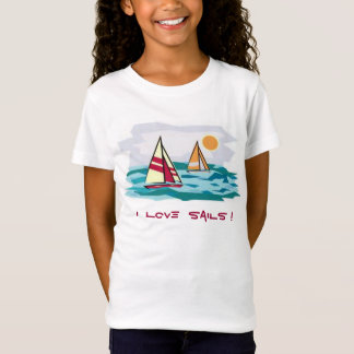 I Love Sails ! T T-Shirt