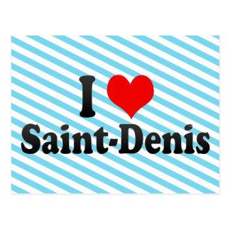 I Love Saint-Denis, R�union Postcard