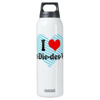 I Love Saint-Die-des-Vosges, France Insulated Water Bottle