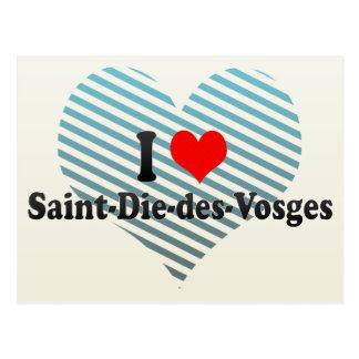 I Love Saint-Die-des-Vosges, France Postcard