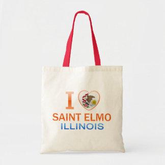 I Love Saint Elmo, IL Tote Bag